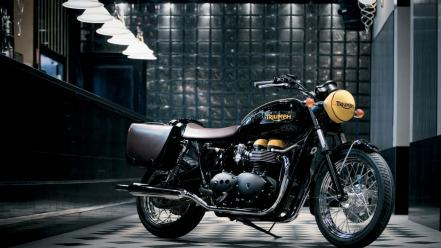 2008 triumph bonneville motorcycles motorbikes vehicles Wallpaper