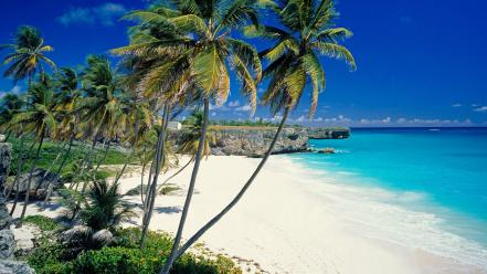 Barbados beaches landscapes sand wallpaper