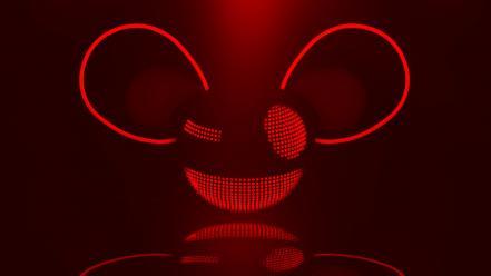 deadmau5 music red wallpaper - photo #2
