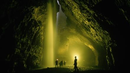 England yorkshire caves wallpaper