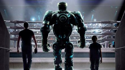 Hollywood real steel movies wallpaper