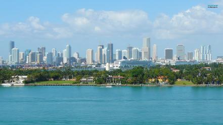 Miami cityscapes wallpaper