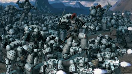 False gods science fiction space marines wallpaper
