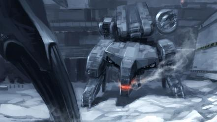 Metal gear rex solid video games wallpaper