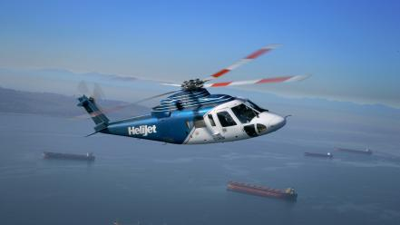 Sikorsky helicopters s76 spirit vehicles Wallpaper