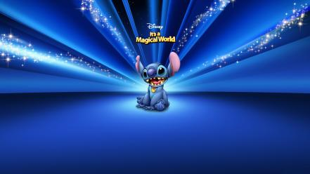 Walt disney cartoons stitch Wallpaper