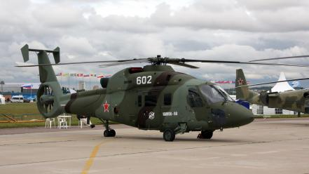 Aircraft helicopters kamov russian air force ka-60 wallpaper