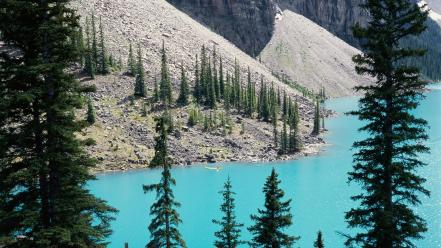 Alberta lakes banff national park moraine lake wallpaper