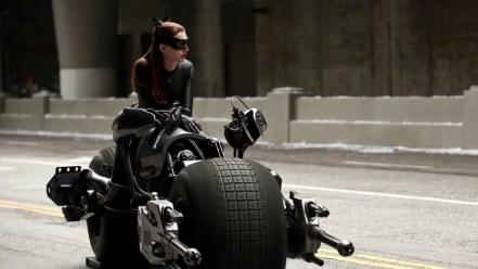 Anne hathaway batman catwoman the dark knight rises wallpaper