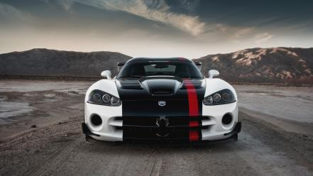 Cars muscle dodge viper widescreen wallpaper