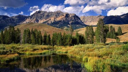 Mountains nature idaho boulder wallpaper