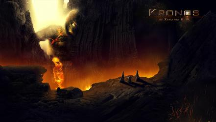 Wrath titans zeus photomanipulation kronos zdesigns Wallpaper