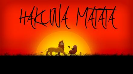 Hakuna matata pumba the lion king timon Wallpaper