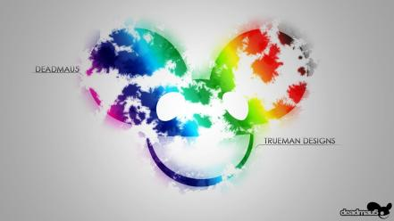 Deadmau5 mickey mouse colors dubstep multicolor wallpaper