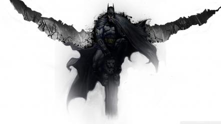 Arkham city batman artwork concept art wallpaper