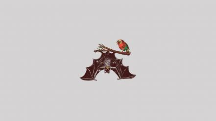 Batman and robin abstract funny simple simplistic Wallpaper
