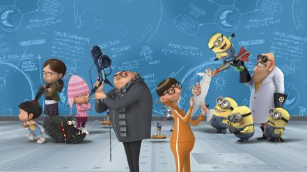 Cgi despicable me artwork characters minions Wallpaper