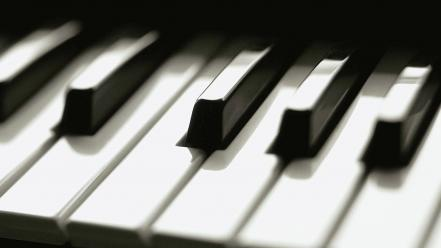 Black and white grayscale instruments music piano Wallpaper