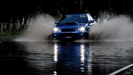 Domestic market subaru impreza wrx cars splashes Wallpaper