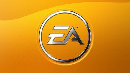 Ea games minimalistic yellow background wallpaper