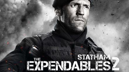 Jason statham the expendables 2 movies wallpaper