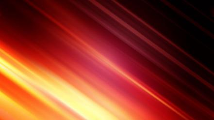 Abstract blurred colors fire glow wallpaper