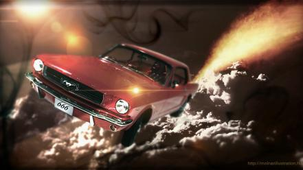 Evil dead ford mustang hell driver cars wallpaper