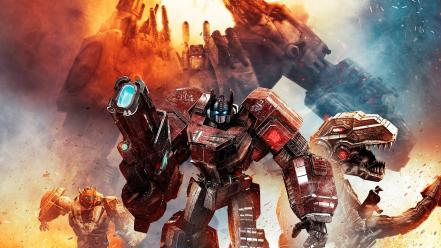 360 playstation 3 fall of cybertron metroplex Wallpaper