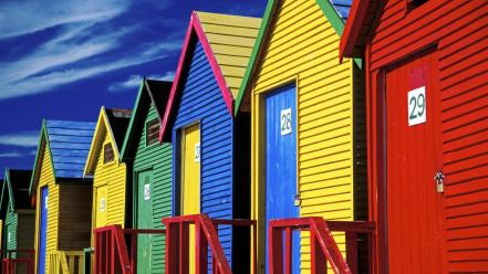 Beach houses south africa Wallpaper