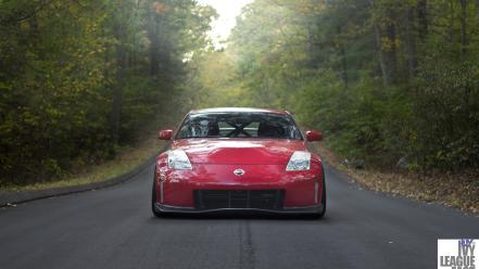 Cars vehicles nissan 350z red jdm wallpaper