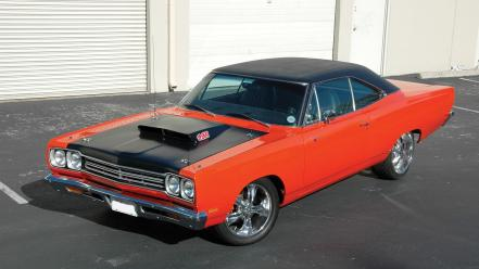 Muscle cars 1969 plymouth road runner wallpaper