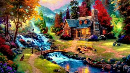 Tales thomas kinkade wallpaper
