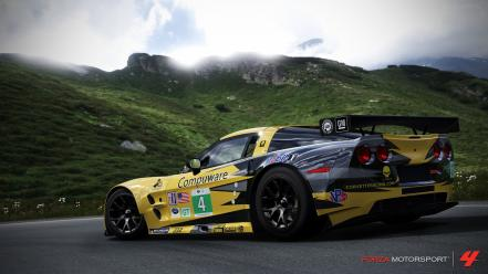 Xbox 360 corvette zr1 forza motorsport 4 wallpaper