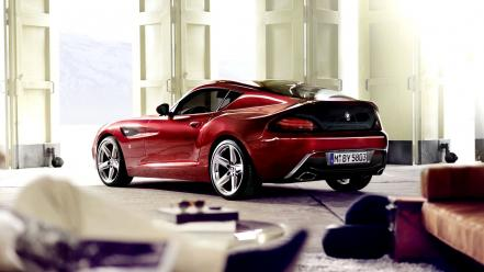 Bmw red cars sports Wallpaper