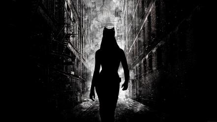 Catwoman gotham city the dark knight rises wallpaper