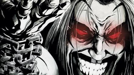 Dc comics lobo weird worlds czarnian Wallpaper