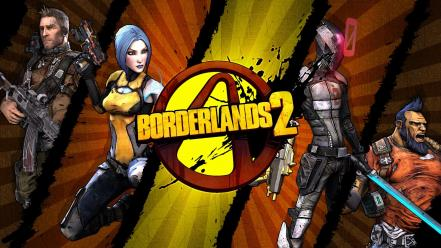 Video games borderlands 2 gunzerker zer0 wallpaper