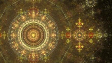Abstract fractals apophysis Wallpaper