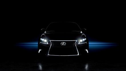 Artistic cars studio lexus vehicles headlights ls wallpaper