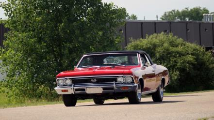 Cars chevrolet vehicles chevelle ss Wallpaper