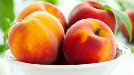 Fruits peaches wallpaper