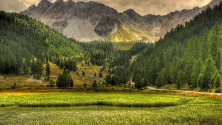 Mountains landscapes wallpaper