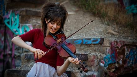 Music violins lindsey stirling wallpaper