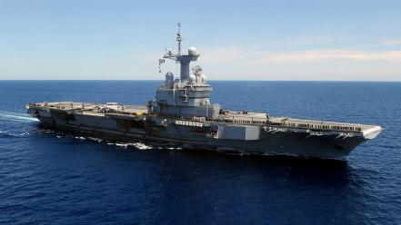 Us marines corps aircraft carriers charles de gaulle Wallpaper