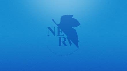 Blue nerv wallpaper