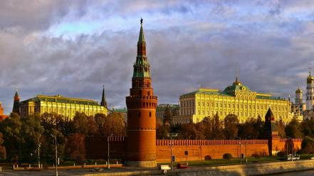 Cityscapes russia moscow kremlin wallpaper