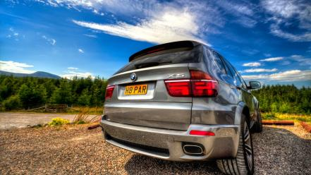 Digital art vehicles hdr photography x5 german Wallpaper