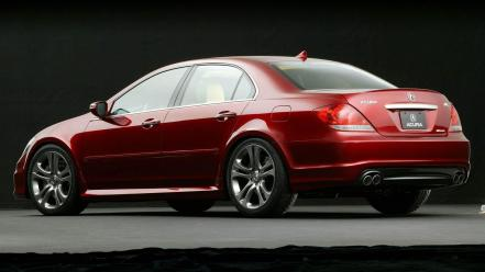 Red cars vehicles acura rl wallpaper