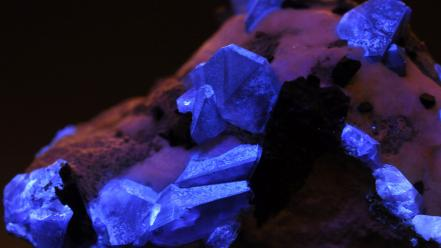 Rocks crystals ultraviolet minerals uv filter Wallpaper