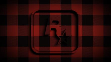 Rockstar games logos tartan Wallpaper